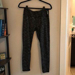 RBX black/white/grey striped leggings